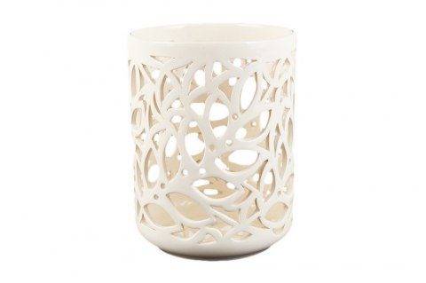 Osłonka Ceramiczna Ażurowa Na Doniczkę Storczyka