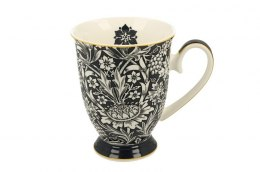 Kubek porcelanowy na stópce William Morris Blue